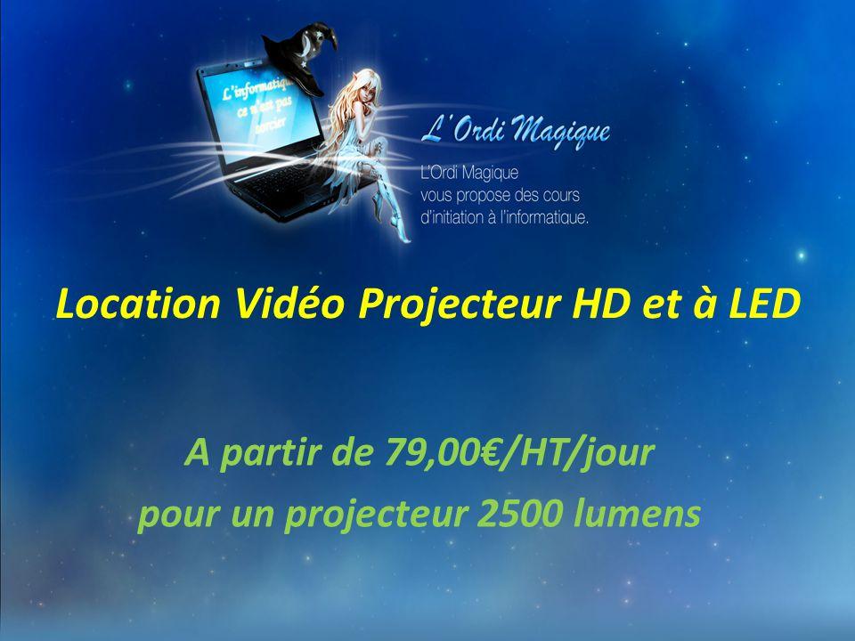 Location Vidéo Projecteur HD et à LED