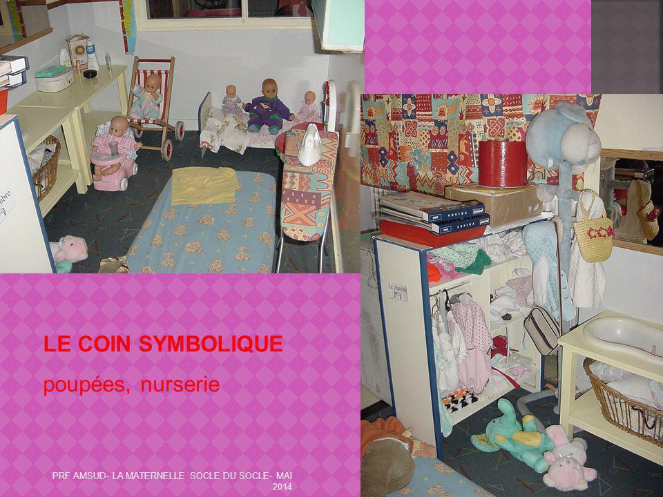 LE COIN SYMBOLIQUE poupées, nurserie