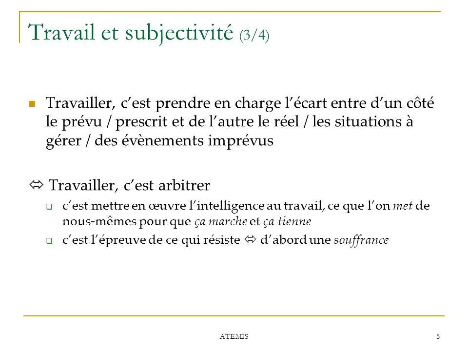 Travail et subjectivité (3/4)