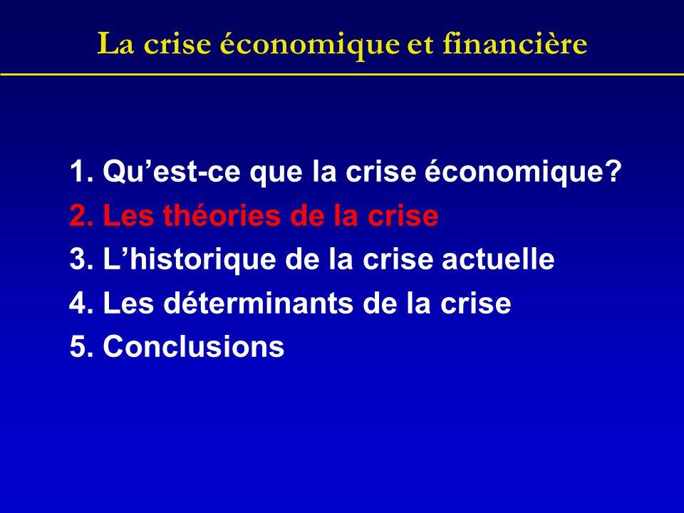 La crise économique et financière