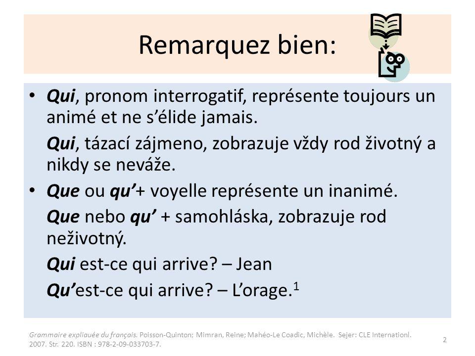 1. Exercice: Utvoř věty pomocí est-ce que