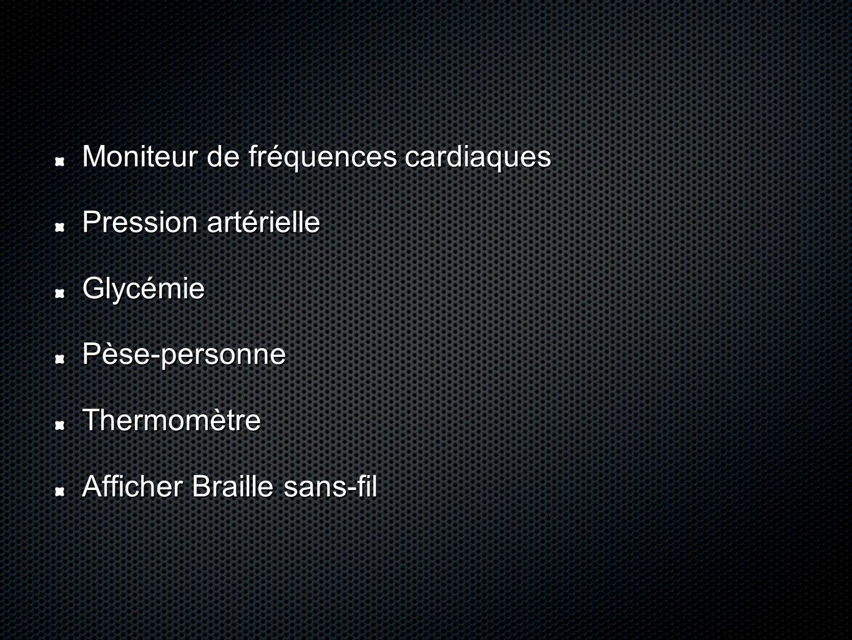 Moniteur de fréquences cardiaques