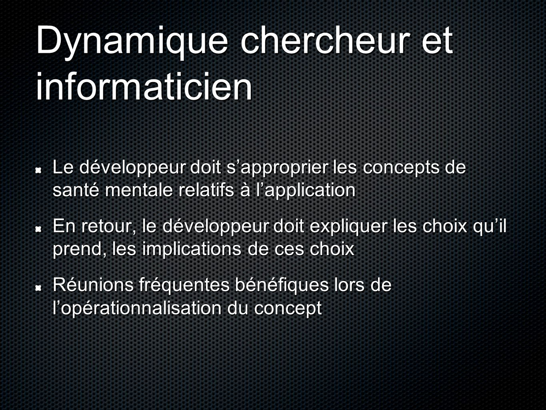 Dynamique chercheur et informaticien