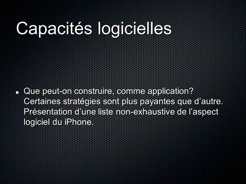 Capacités logicielles