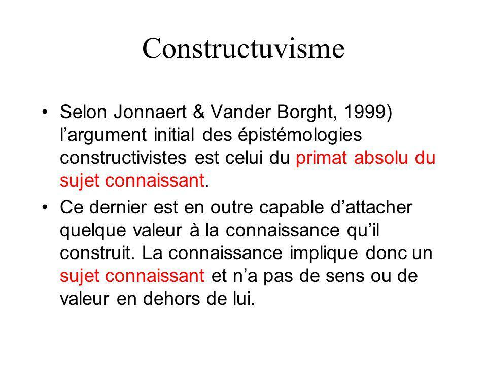 Constructuvisme