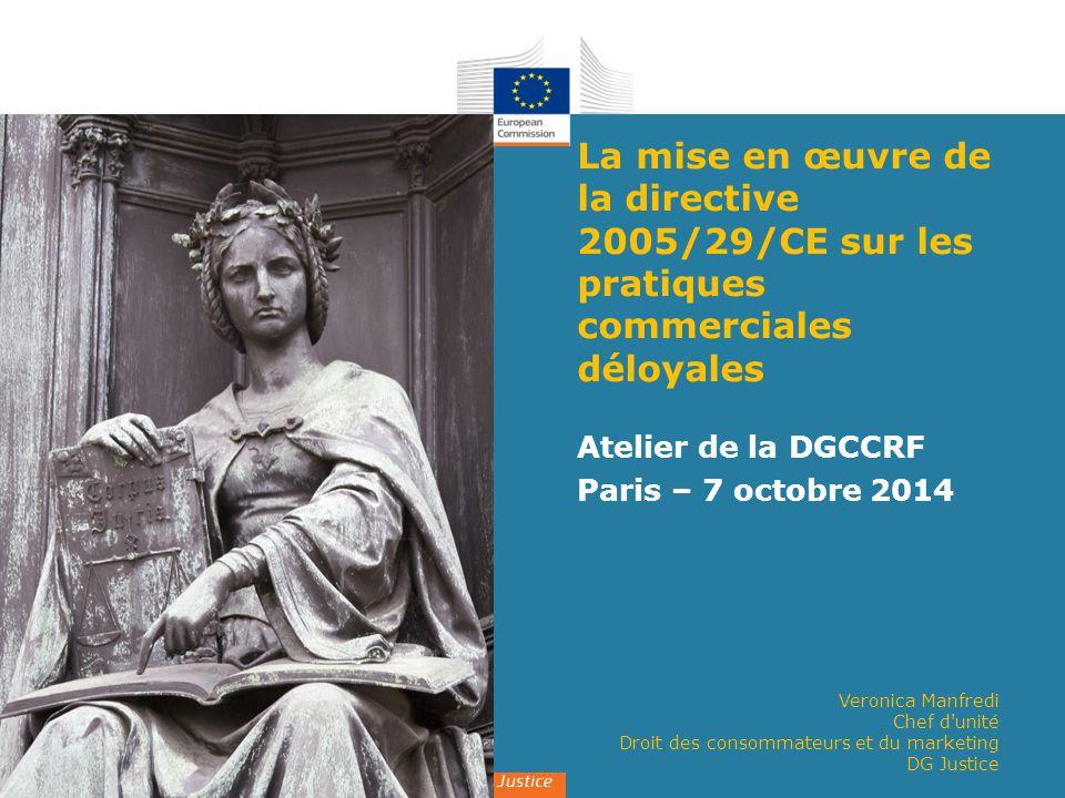 Atelier de la DGCCRF Paris – 7 octobre 2014