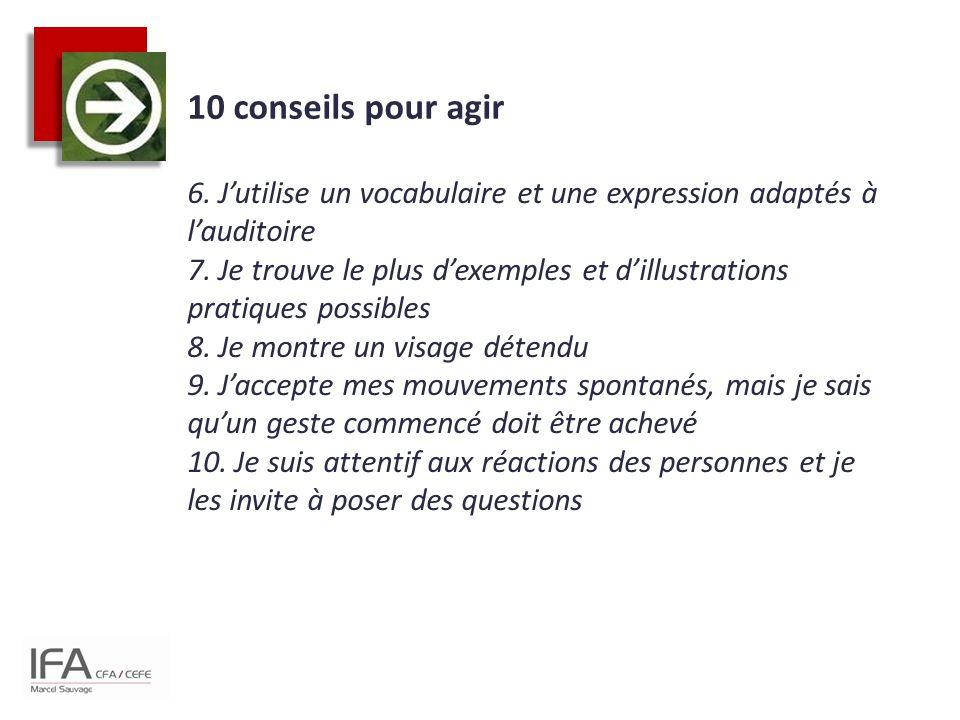 10 conseils pour agir