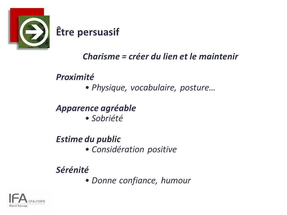 Être persuasif
