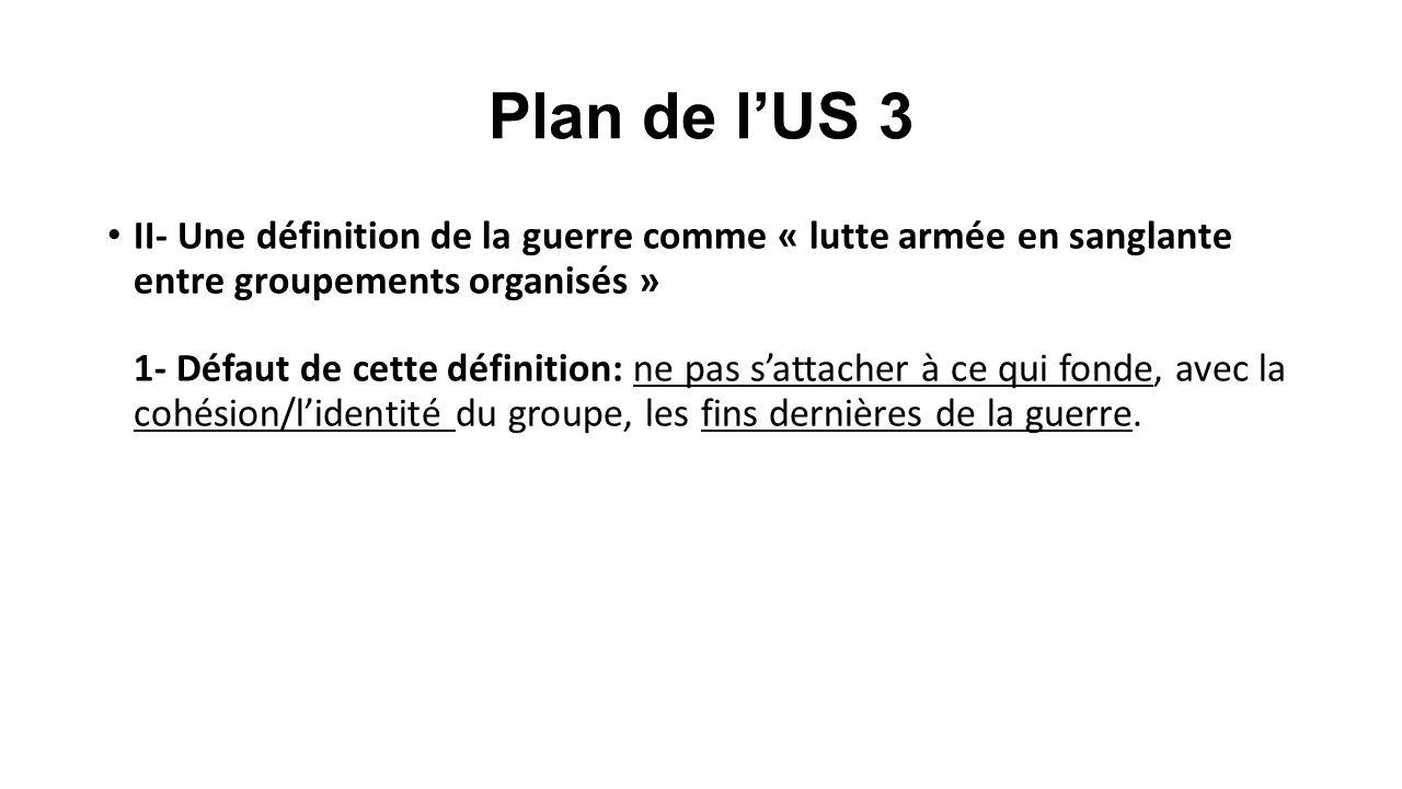 Plan de l'US 3