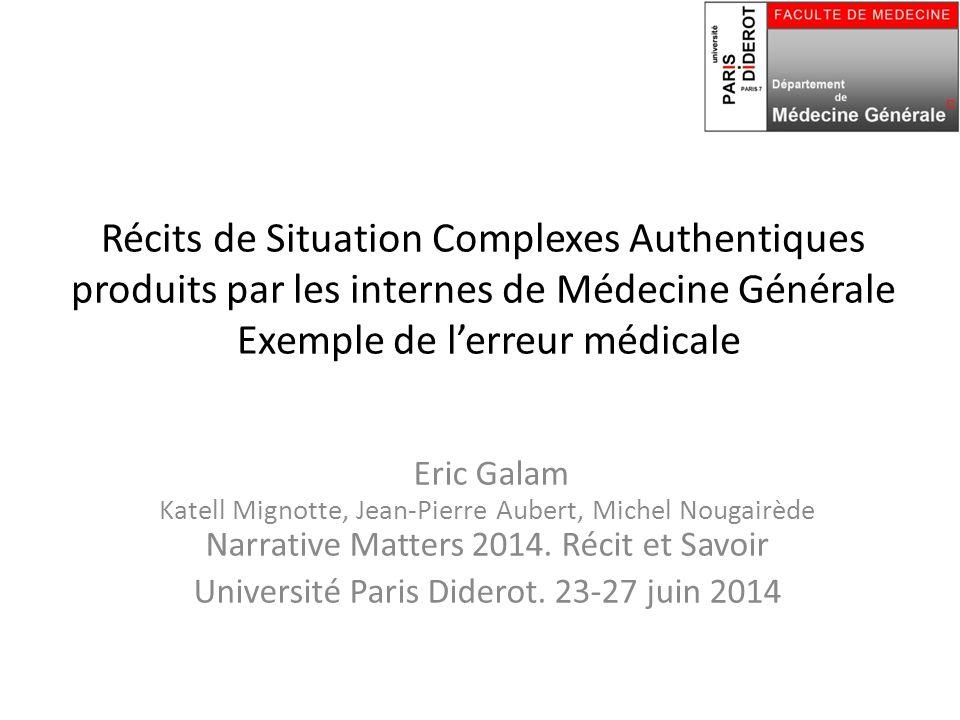 Université Paris Diderot. 23‐27 juin 2014