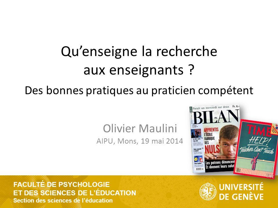 Olivier Maulini AIPU, Mons, 19 mai 2014