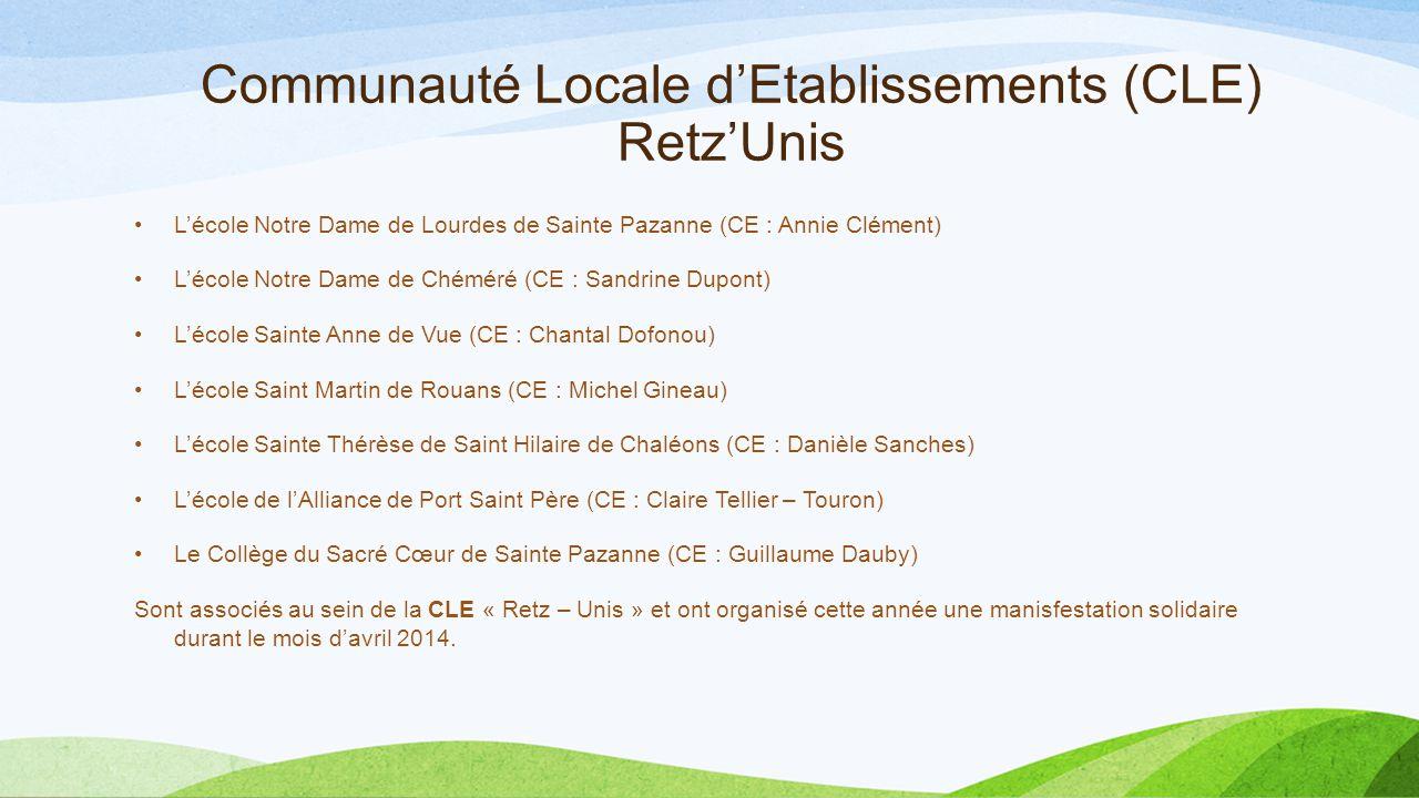 Communauté Locale d'Etablissements (CLE) Retz'Unis
