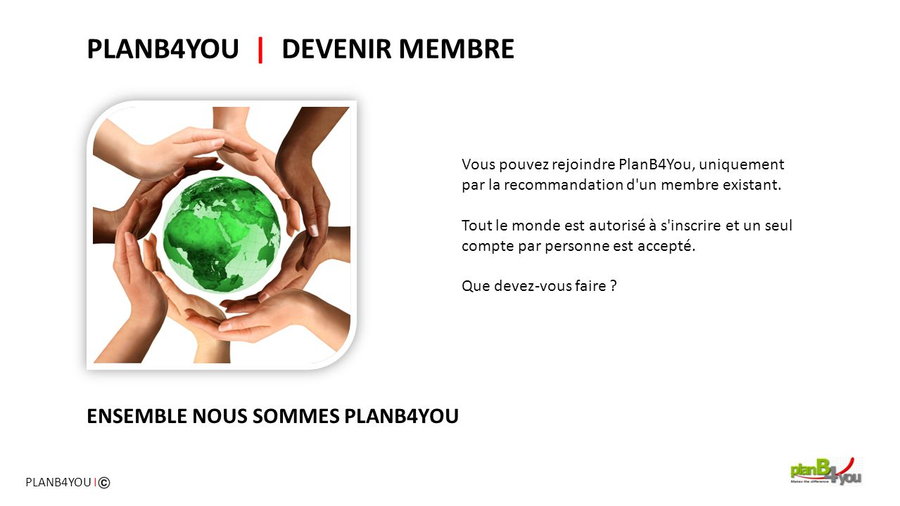 PLANB4YOU | DEVENIR MEMBRE
