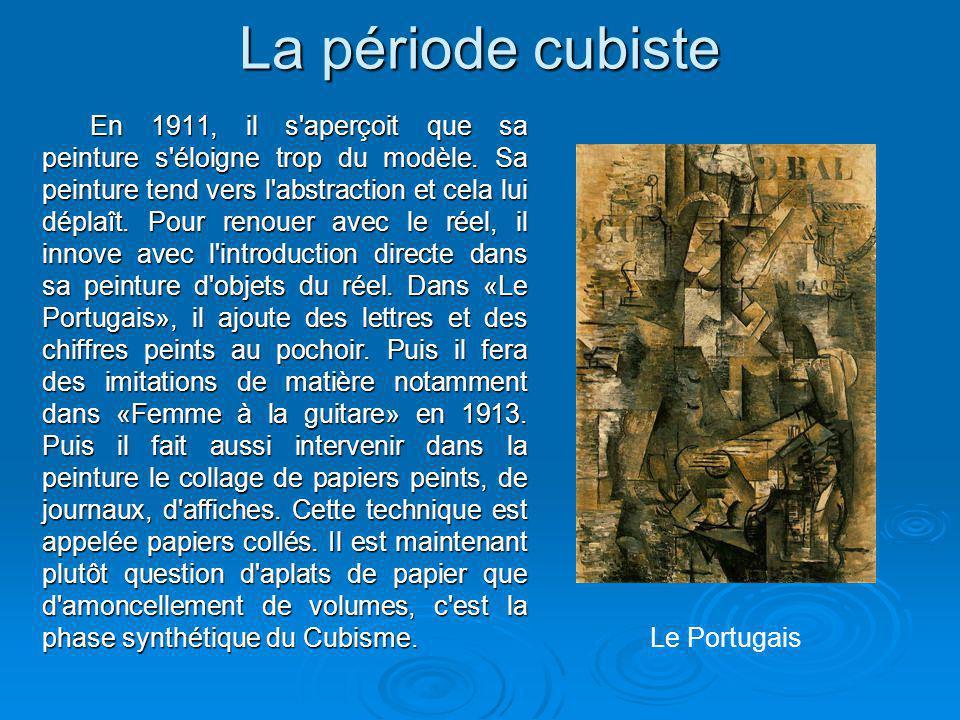La période cubiste