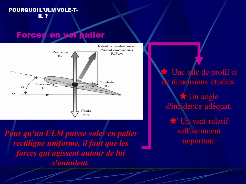  Une aile de profil et de dimensions étudiés.