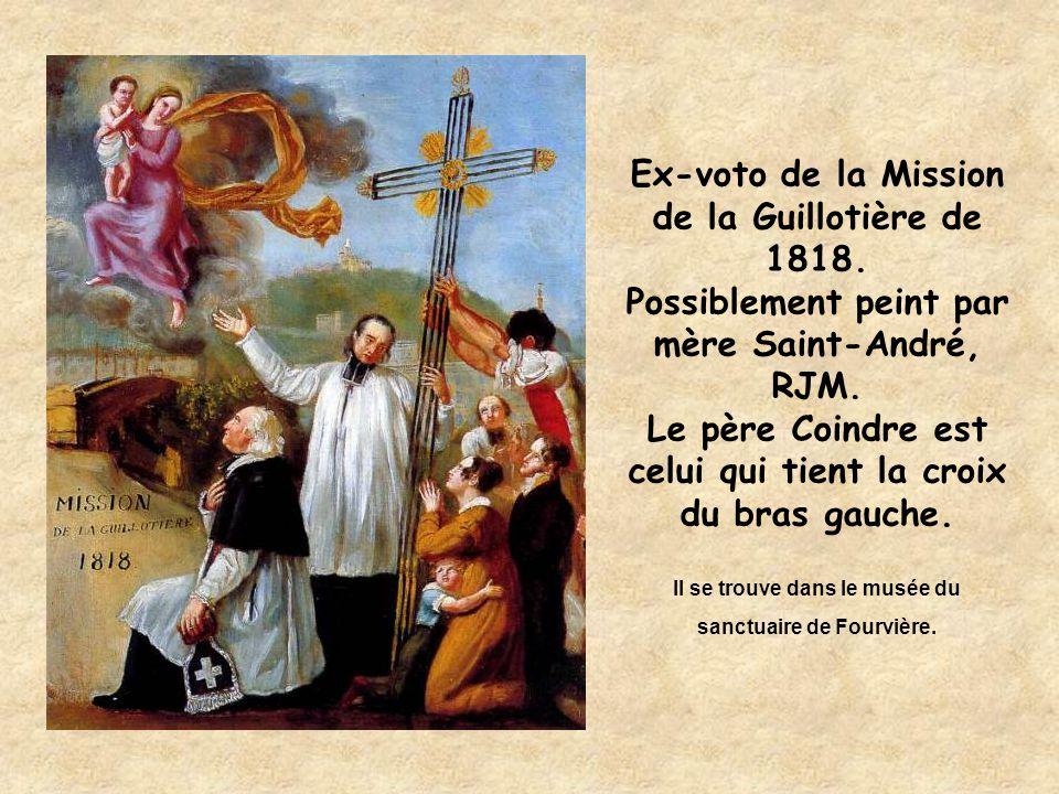 Ex-voto de la Mission de la Guillotière de 1818