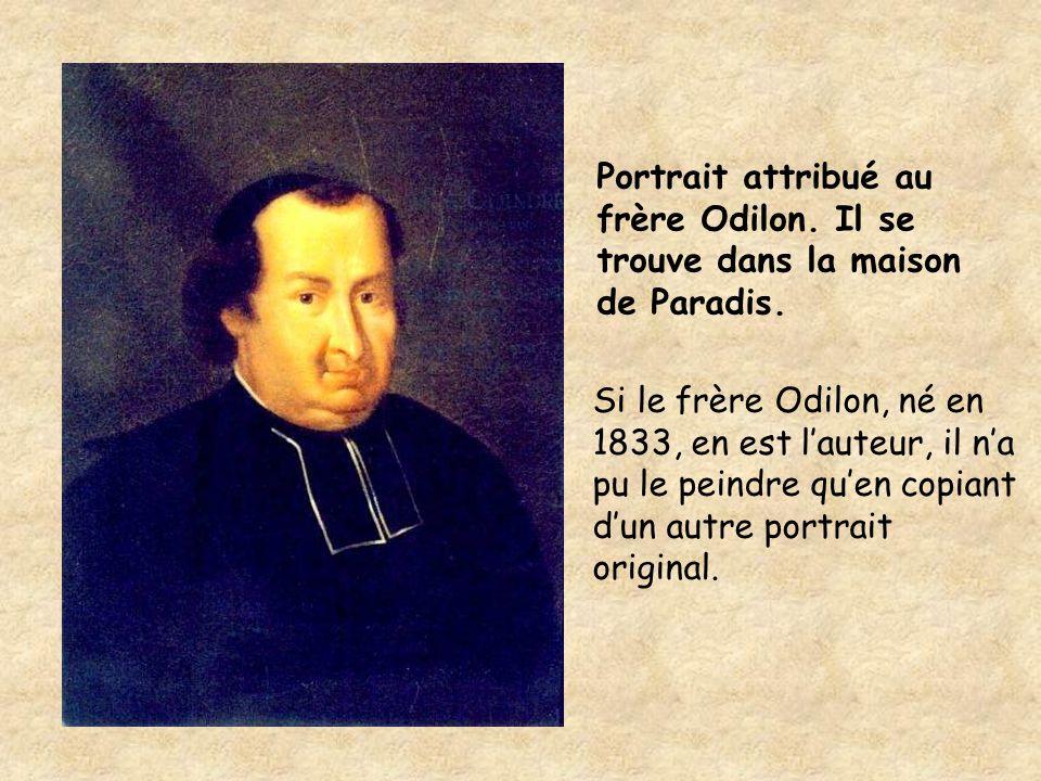 Portrait attribué au frère Odilon