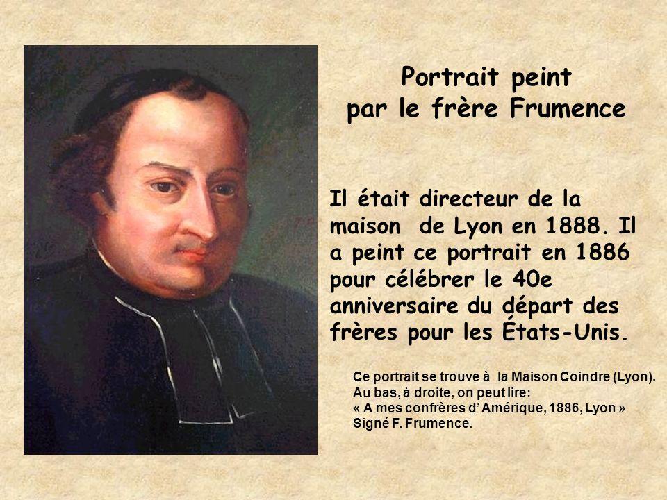 Portrait peint par le frère Frumence