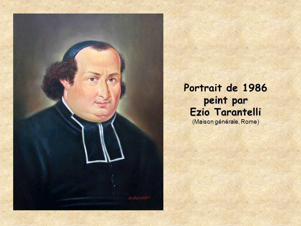 Portrait de 1986 peint par Ezio Tarantelli (Maison générale, Rome)