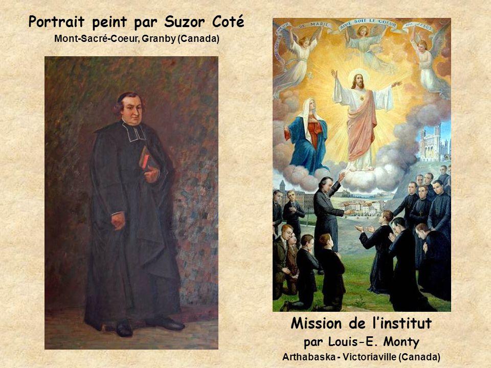 Portrait peint par Suzor Coté Mont-Sacré-Coeur, Granby (Canada)