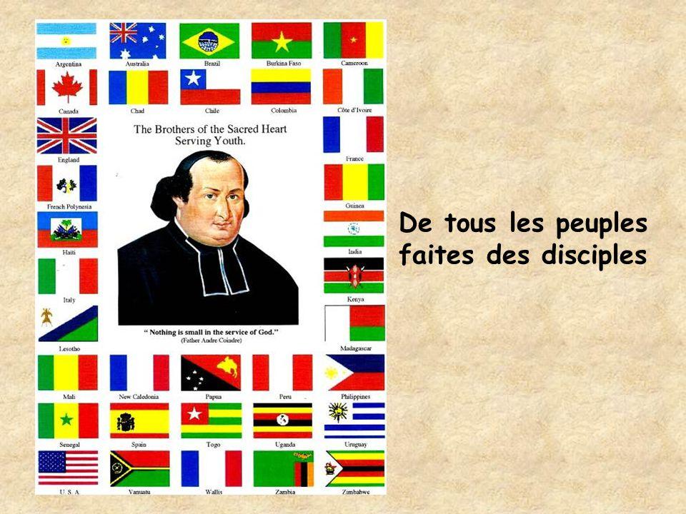 De tous les peuples faites des disciples