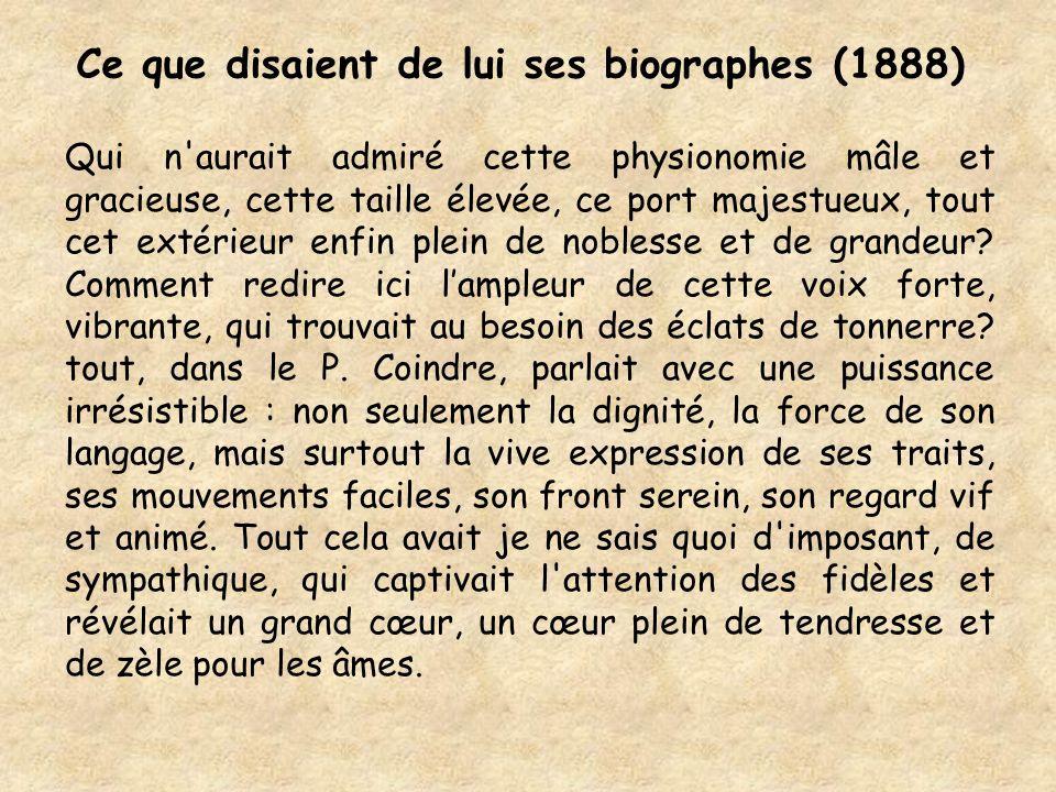 Ce que disaient de lui ses biographes (1888)