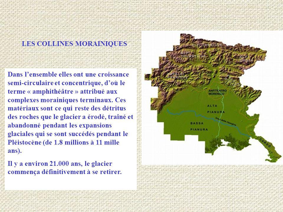 LES COLLINES MORAINIQUES