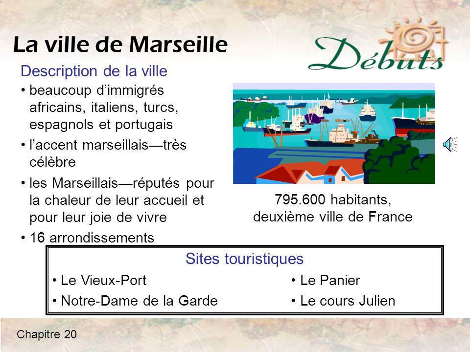 795.600 habitants, deuxième ville de France