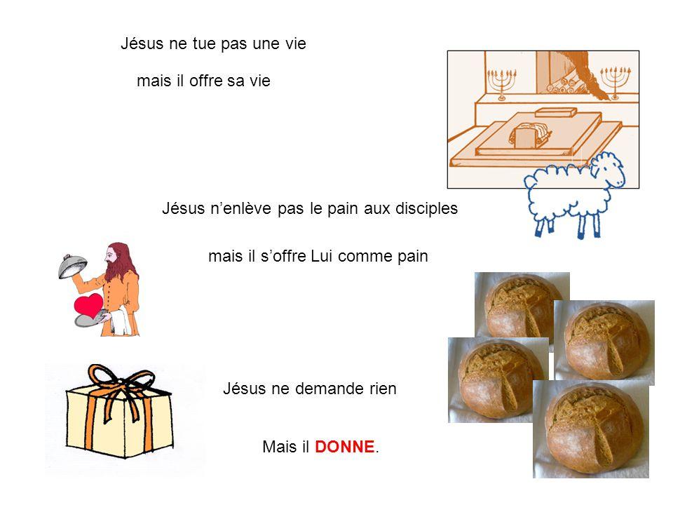 Jésus n'enlève pas le pain aux disciples