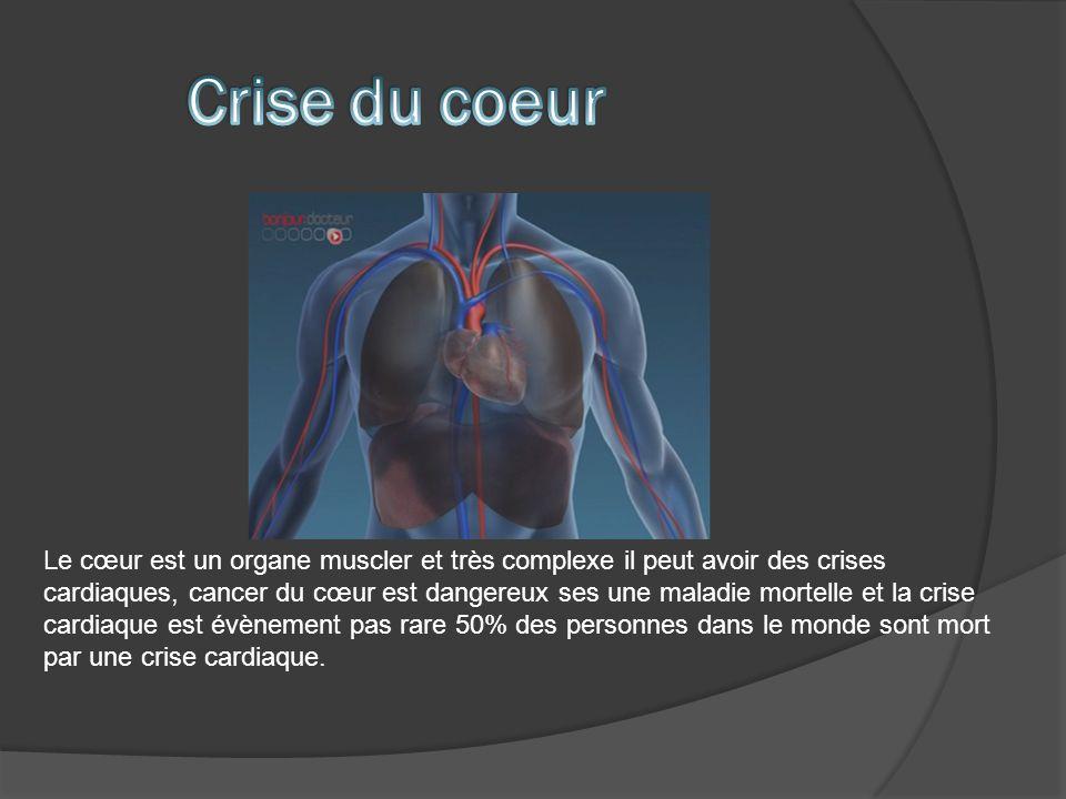 Crise du coeur