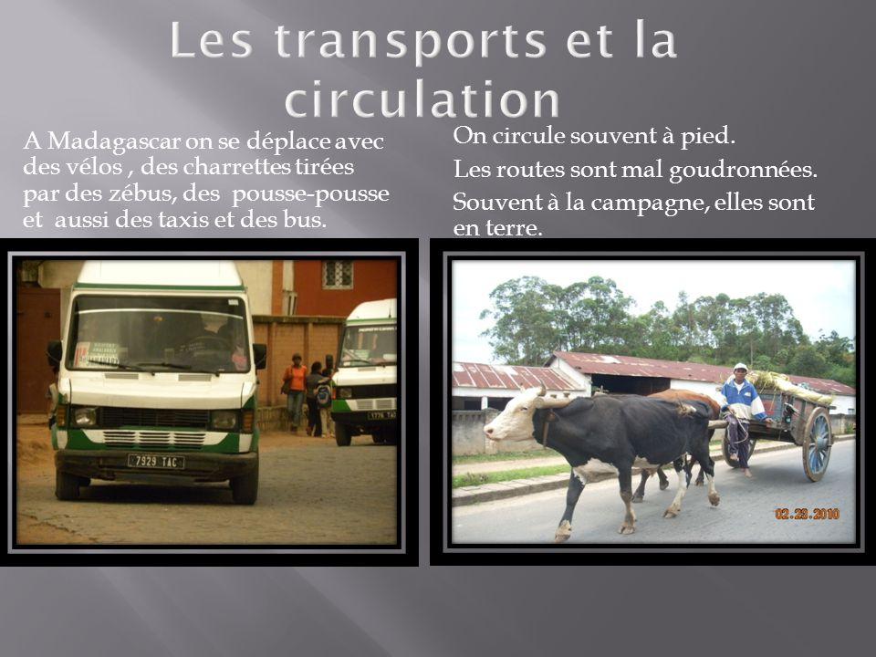 Les transports et la circulation
