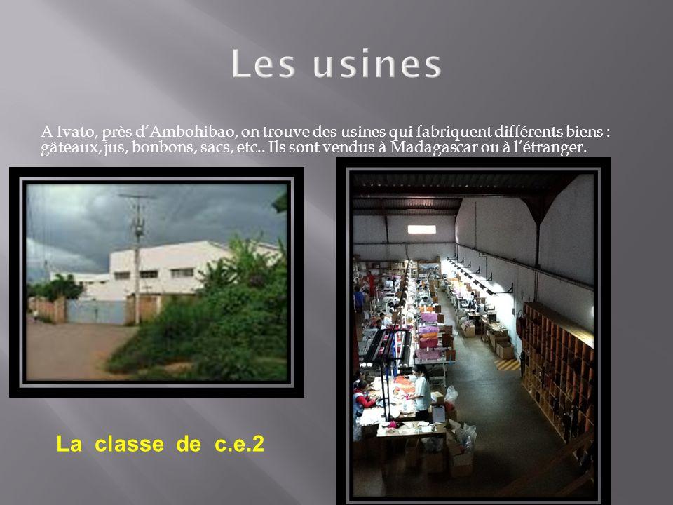 Les usines La classe de c.e.2