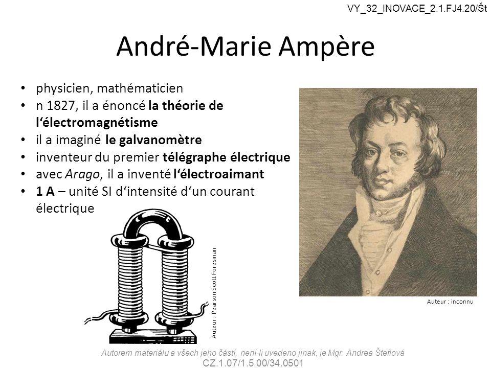 André-Marie Ampère physicien, mathématicien
