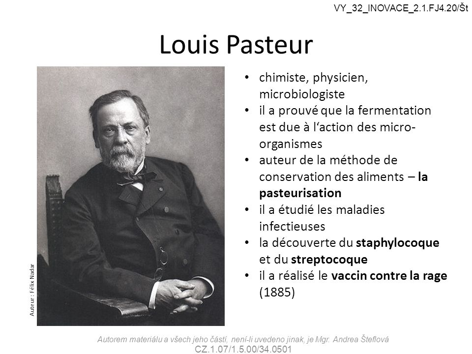 Louis Pasteur chimiste, physicien, microbiologiste