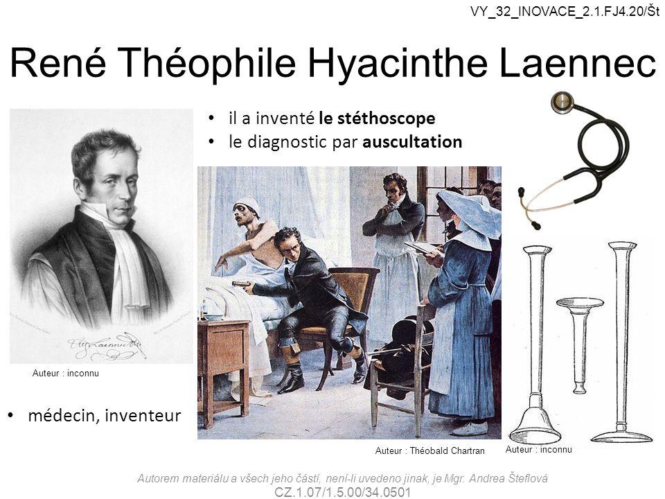 René Théophile Hyacinthe Laennec