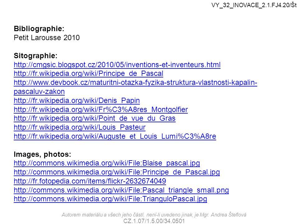 Bibliographie: Petit Larousse 2010 Sitographie: