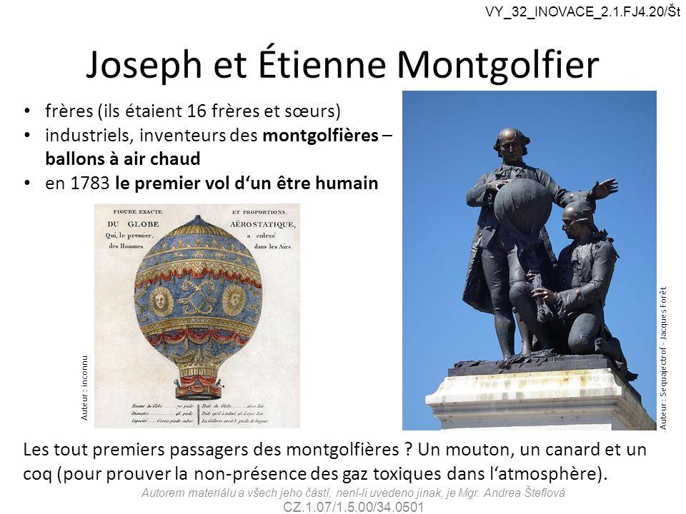 Joseph et Étienne Montgolfier