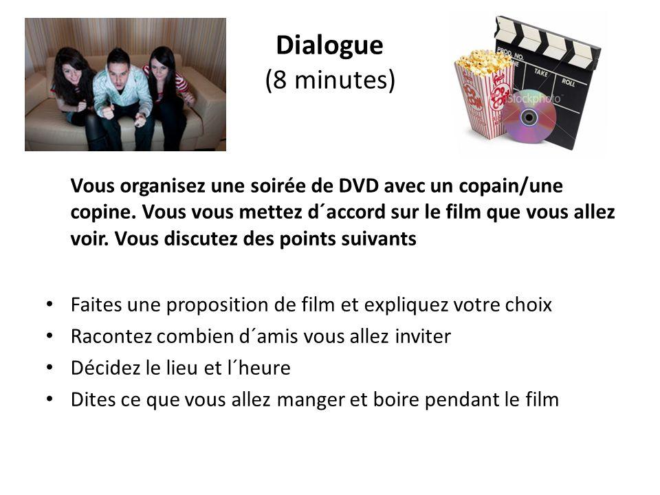Dialogue (8 minutes)