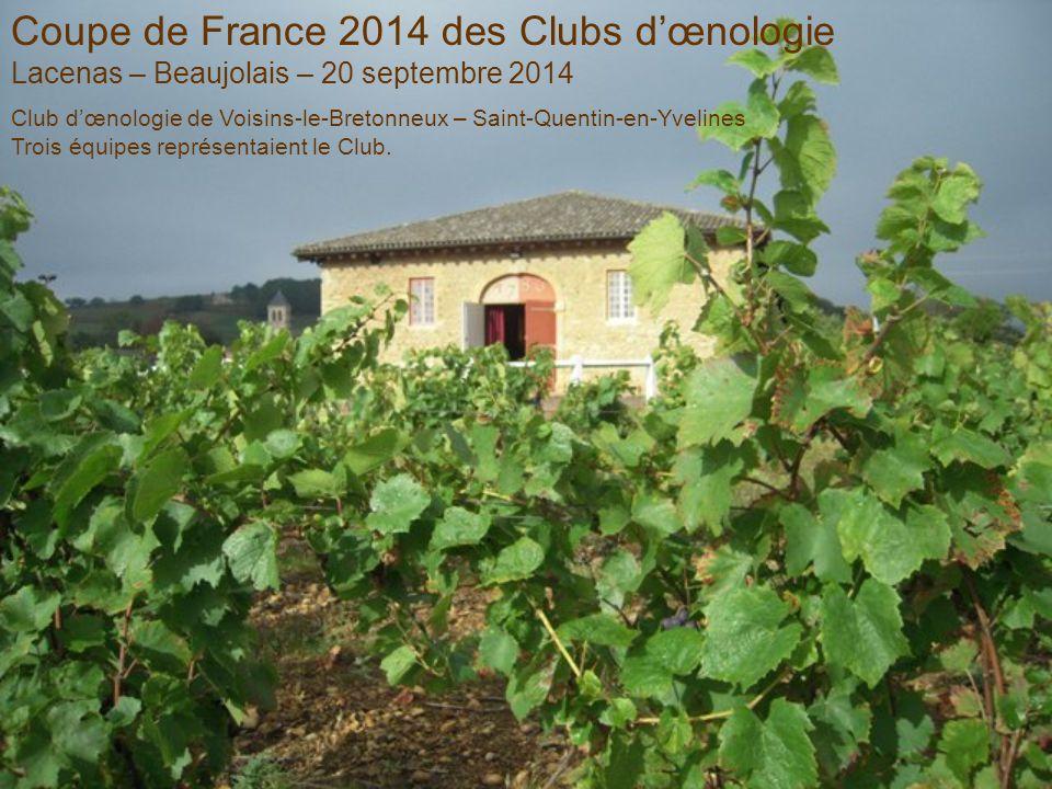 Coupe de France 2014 des Clubs d'œnologie