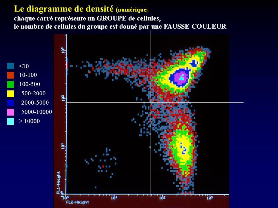 Le diagramme de densité (numérique):