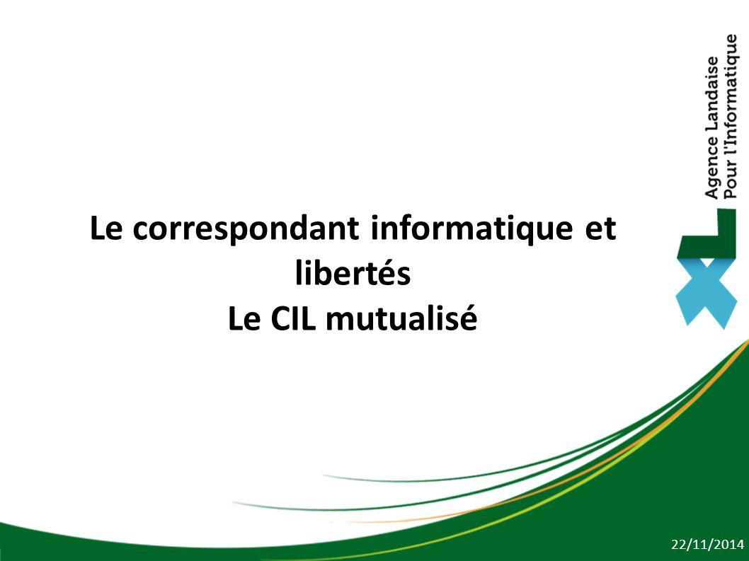 Le correspondant informatique et libertés Le CIL mutualisé