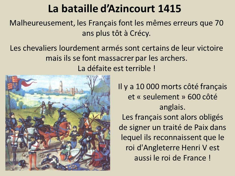 La bataille d'Azincourt 1415