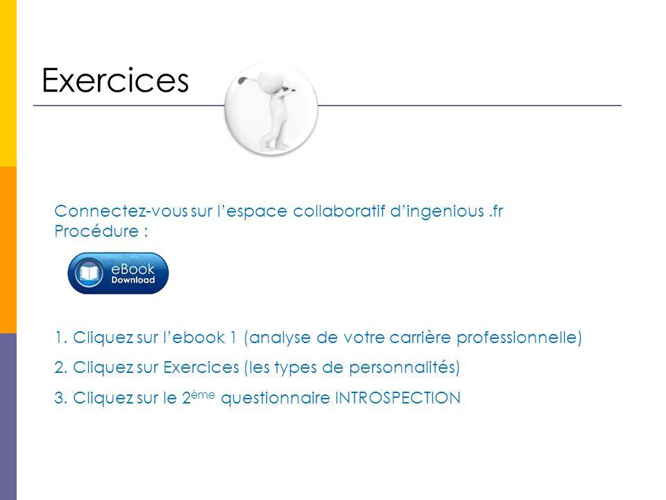Exercices Connectez-vous sur l'espace collaboratif d'ingenious .fr