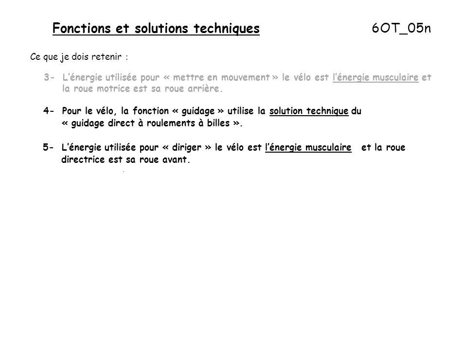 Fonctions et solutions techniques 6OT_05n