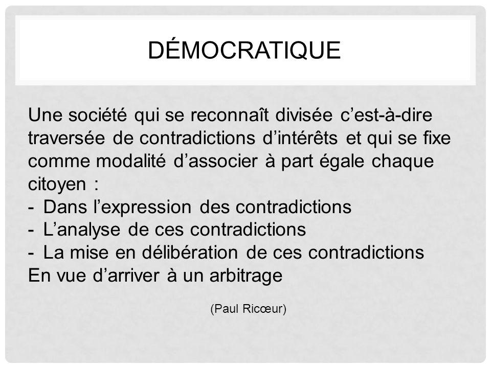 Démocratique