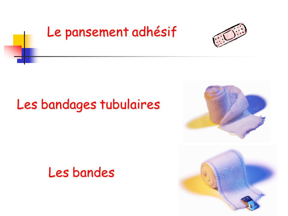 Les bandages tubulaires