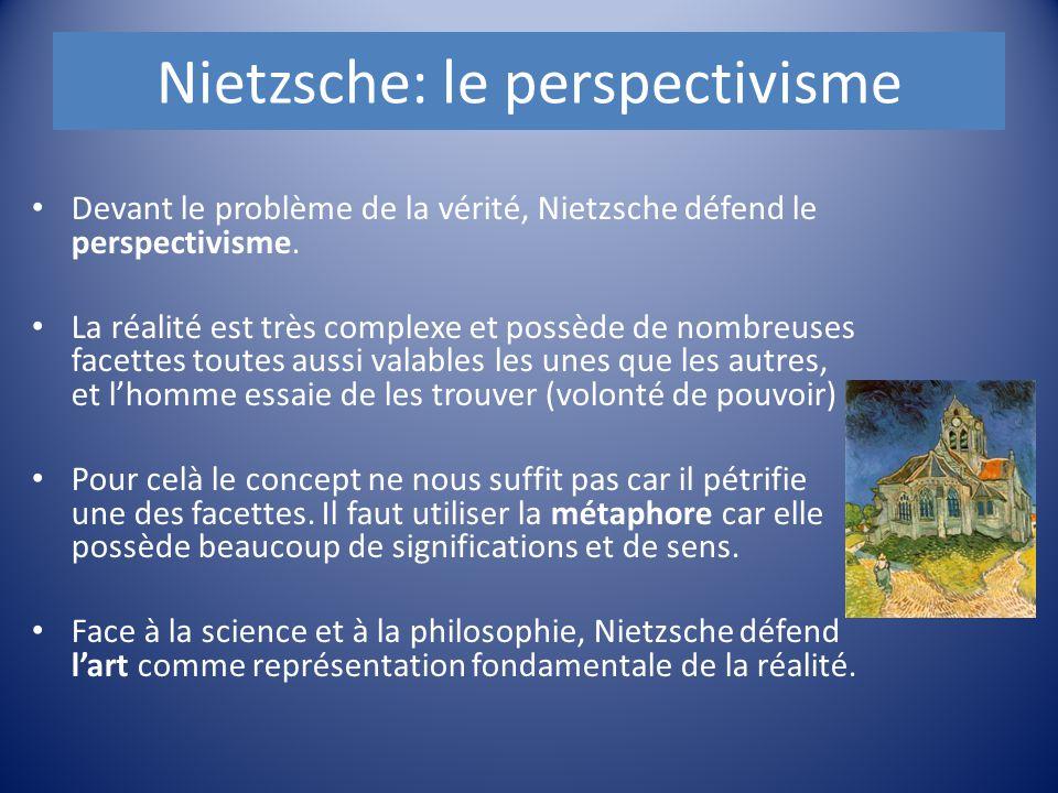 Nietzsche: le perspectivisme
