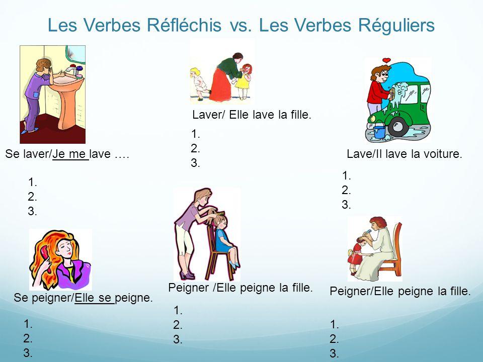 Les Verbes Réfléchis vs. Les Verbes Réguliers