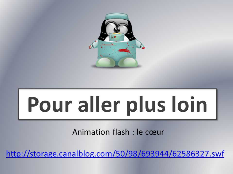Animation flash : le cœur