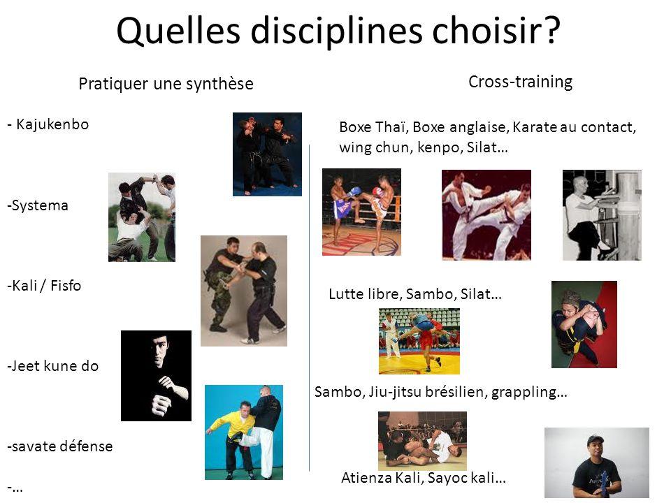 Quelles disciplines choisir
